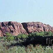 785 Sl  Red Rock Medow Art Print