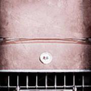 1957 Chevrolet Corvette Grille Art Print