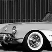 1957 Chevrolet Corvette Art Print