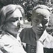 British-born Sculptress Completes Bust Of President Nyerere Art Print