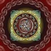 Celtic Pattern Art Print