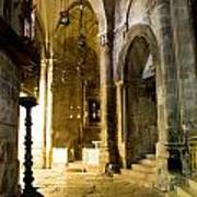 Church Of The Holy Sepulchre In Jerusalem Art Print