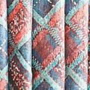 Colorful Cloth Art Print