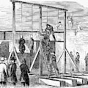 Execution Of Conspirators Art Print