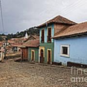 forgotten village Totora Art Print