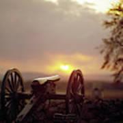 Gettysburg Military Park Art Print