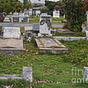 Key West Cemetery Art Print