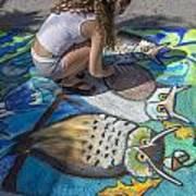 Lake Worth Street Painting Festival Art Print