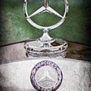 Mercedes Benz Hood Ornament Art Print