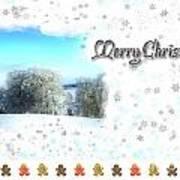 Christmas Card 24 Art Print