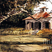 8 Of Us Kids Lived Here Art Print