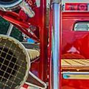 Ole Time Fire Truck Series Art Print by Kelly Kitchens