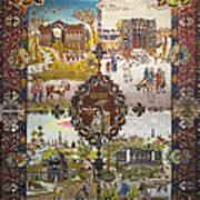 Photos Of Persian Antique Rugs Kilims Carpets  Art Print