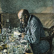 Robert Koch (1843-1910) Art Print