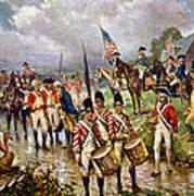 Saratoga: Surrender, 1777 Art Print