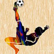 Soccer Player Art Print