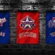 Texas Rangers Art Print
