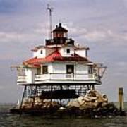 Thomas Point Shoal Lighthouse Art Print