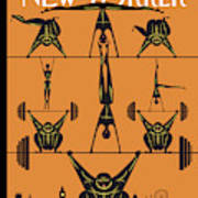 New Yorker August 6th, 2012 Art Print