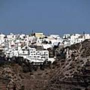 Views From Santorini Greece Art Print