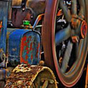 Wheels Of Time Art Print