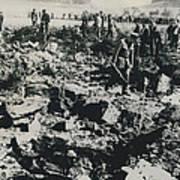80 Die In A Plane Crash Near Zurich Art Print