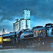 844 Night Train Art Print