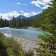 853p Bow River Canada Art Print