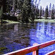 896 Sl Crossing The River Art Print