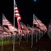 9-11 Flags Art Print