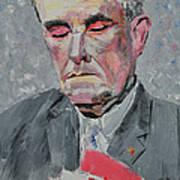 9-11 Mayor Giuliani Art Print