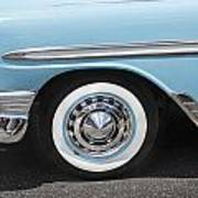 1956 Chevrolet Bel Air Convertible Art Print