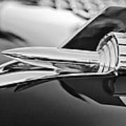 1957 Chevrolet Belair Hood Ornament Art Print