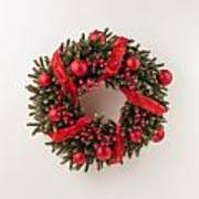 Advent Christmas Wreath  Art Print