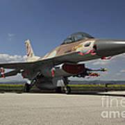 An F-16c Barak Of The Israeli Air Force Art Print