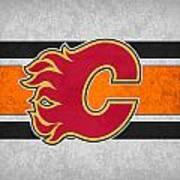 Calgary Flames Art Print