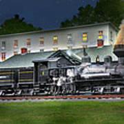 Cass Scenic Railroad Art Print