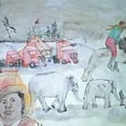 Circus Circus Circus Album Art Print