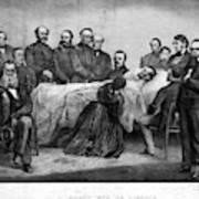 Death Of Lincoln, 1865 Art Print