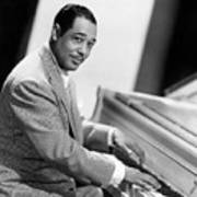 Duke Ellington (1899-1974) Art Print by Granger