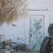 El Farafar Oasis Art Print