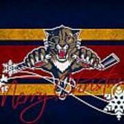 Florida Panthers Art Print