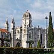 Hieronymites Monastery In Lisbon Art Print