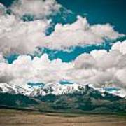 Himalaya Range Art Print