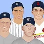 9-inning Legends Art Print