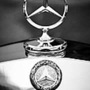 Mercedes-benz Hood Ornament Art Print