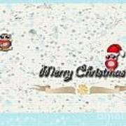 Christmas Card 29 Art Print