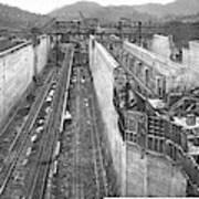 Panama Canal, C1910 Art Print