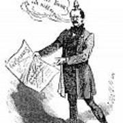 Prince Otto Von Bismarck  Art Print