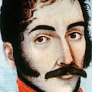 Simon Bolivar (1783-1830) Art Print